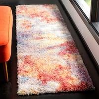 Safavieh Gypsy Bohemian Rust/ Ivory Polyester Rug - 2'3 x 8'
