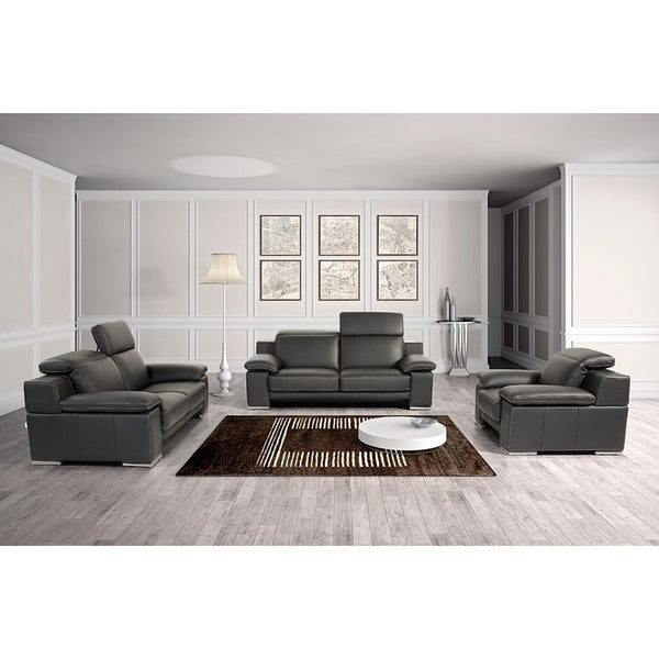 modern p wyoming set living gf tan brown leather room sofaset bonded