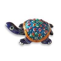 Unique Metal Work Tortoise Figurine