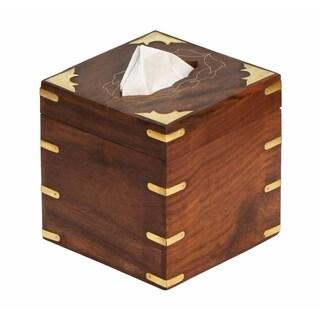 SouvNear Wood Kleenex Tissue Box Holder