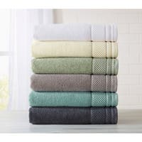 Home Fashion Designs Helena Collection 6-Piece Luxury Hotel / Spa 100% Turkish Cotton Towel Set