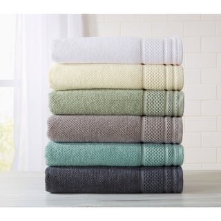 Home Fashion Designs Helena Collection 6-Piece Luxury Hotel / Spa 100% Turkish Cotton Towel Set (More options available)