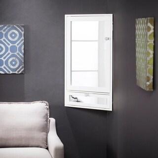 Harper Blvd Freeton Wall Mount Corner Vanity with Storage - White