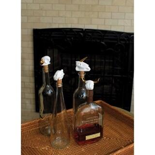 Drink to Life Skull Winestopper Set