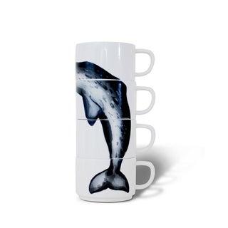 Sealife Narwhal Stacking Mugs