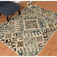 "Westfield Home Sphinx Vienna Blue Area Rug - 7'10"" x 10'6"""