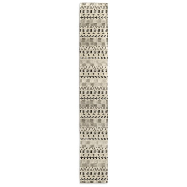 Kavka Designs Ivory Yuma Table Runner Becky Bailey