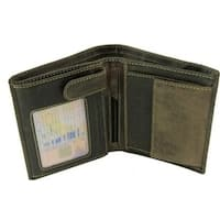 Visconti Hunter 709 Mens Coin & ID Holder Tri Fold Wallet