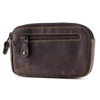 Visconti 723 Hunter Distressed Oil Leather Coin Purse Wallet