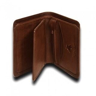 """Visconti Einstein DRW29 Mens Slim Bifold Leather Wallet 4.15"""" x 3.15"""""""