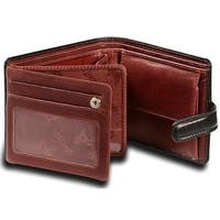 Visconti  TR-35 Classic Tri Fold Wallet Coin ID Holder