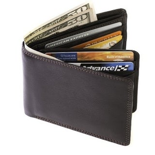 Visconti Heritage 17 Bifold Mens Soft Leather ID Card Case Wallet (2 options available)