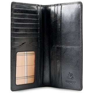 Visconti Monza-Z Tall Bi-fold Leather Wallet