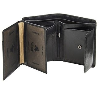 Visconti Tuscany 44 Secure RFID Blocking Genuine Leather Wallet