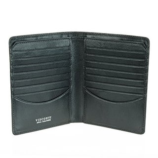 Visconti Tuscany 49 Secure RFID Blocking Leather Card Wallet