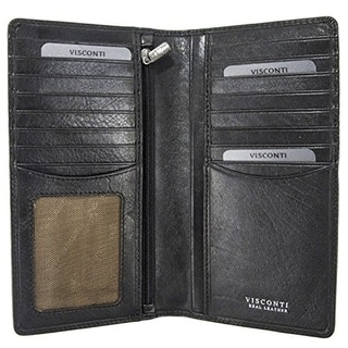 Visconti Tuscany 45 Secure RFID Blocking Genuine Leather Wallet