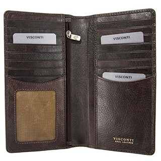 Visconti Tuscany 45 Secure RFID Blocking Genuine Leather Wallet (2 options available)