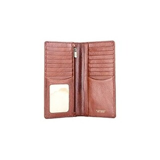 Visconti Tuscany 45 Secure RFID Blocking Genuine Leather Wallet (Option: Tan)