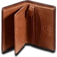 Visconti Ritz TORINO TR-33 Leather Classic Bifold Card Case ID Wallet