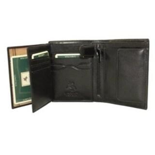 Visconti MONZA 3 Soft  Italian Glazed Quad Fold Wallet
