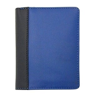 Visconti Lucca LC36 Two-Tone Mens Leather Bi-Fold Slim Style Wallet
