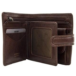 Visconti Tuscany 42 Secure RFID Blocking Genuine Leather Wallet
