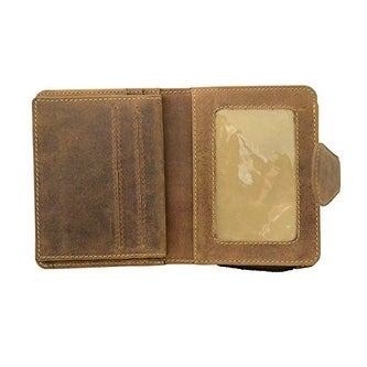 Visconti Hunter 715 Mens Bifold Wallet with Zipper Coin P...