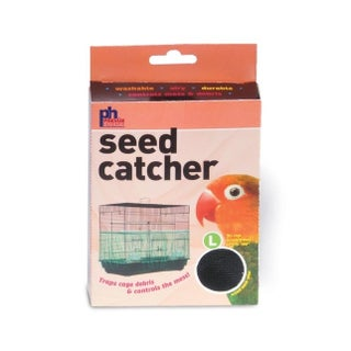 "Prevue Pet Products Mesh Bird Seed Catcher 13"" H"