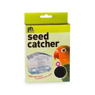 "Prevue Pet Products Mesh Bird Seed Catcher 8"" H"