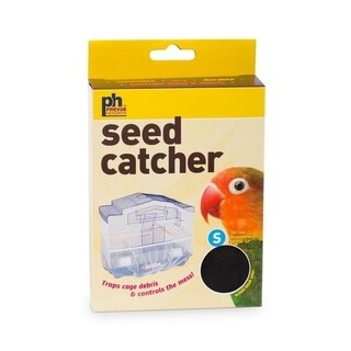 "Prevue Pet Products Mesh Bird Seed Catcher 7"" H"