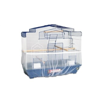 """Prevue Pet Products Mesh Bird Seed Catcher 7"""" H"""