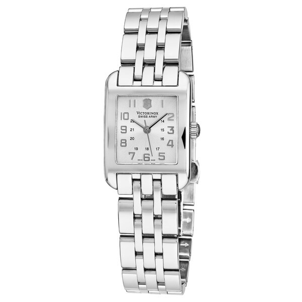 Shop Swiss Army Women S Alliance Silver Dial Stainless