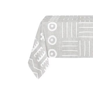 Kavka Designs Grey Yuma Table Cloth By Kavka Designs - 70 x 90 inches