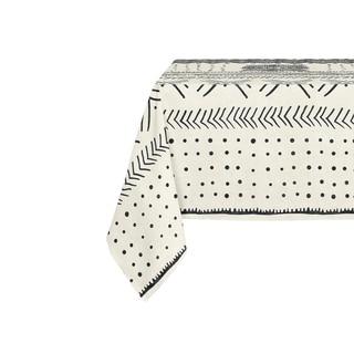 Kavka Designs Ivory Nova Table Cloth By Becky Bailey - 70 x 90 inches