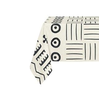 Kavka Designs Ivory Yuma Table Cloth By Kavka Designs - 70 x 90 inches