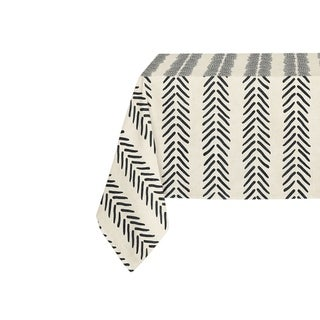 Kavka Designs Ivory Willow Table Cloth By Kavka Designs - 70 x 90 inches
