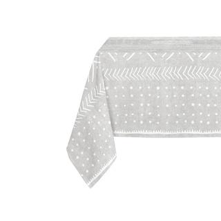 Kavka Designs Grey Nova Table Cloth By Kavka Designs - 70 x 90 inches