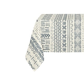 Kavka Designs Ivory Landscape Table Cloth By Becky Bailey - 70 x 90 inches