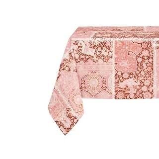 Kavka Designs Boho Patchwork Table Cloth By Marina Gutierrez - 70 x 90 inches (Option: Peach)