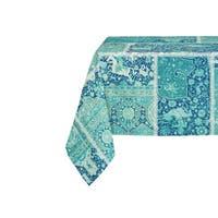 Kavka Designs Boho Patchwork Table Cloth By Marina Gutierrez - 70 x 90 inches