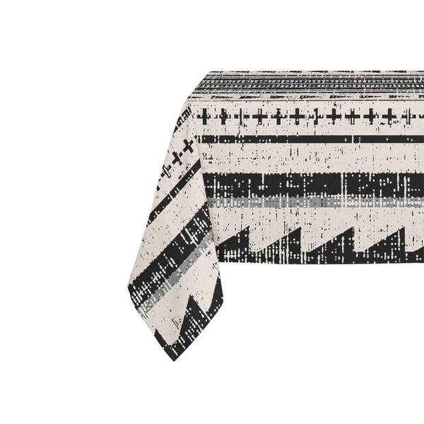 Kavka Designs Triangle Stripe Table Cloth By Michelle Parascandolo - 70 x 90 inches