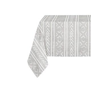 Kavka Designs Grey Coronado Table Cloth By Kavka Designs - 70 x 90 inches