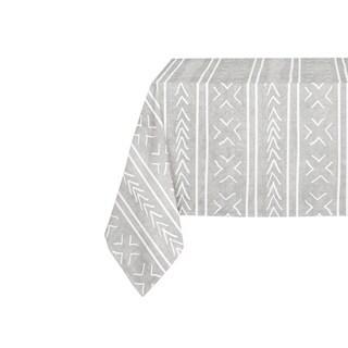 Kavka Designs Grey Coronado Table Cloth By Becky Bailey - 70 x 90 inches