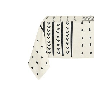 Kavka Designs Ivory Basin Table Cloth By Becky Bailey - 70 x 90 inches