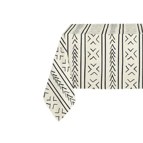 Kavka Designs Ivory Coronado Table Cloth By Becky Bailey - 70 x 90 inches