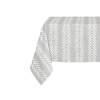 Kavka Designs Grey Willow Table Cloth By Kavka Designs - 70 x 90 inches