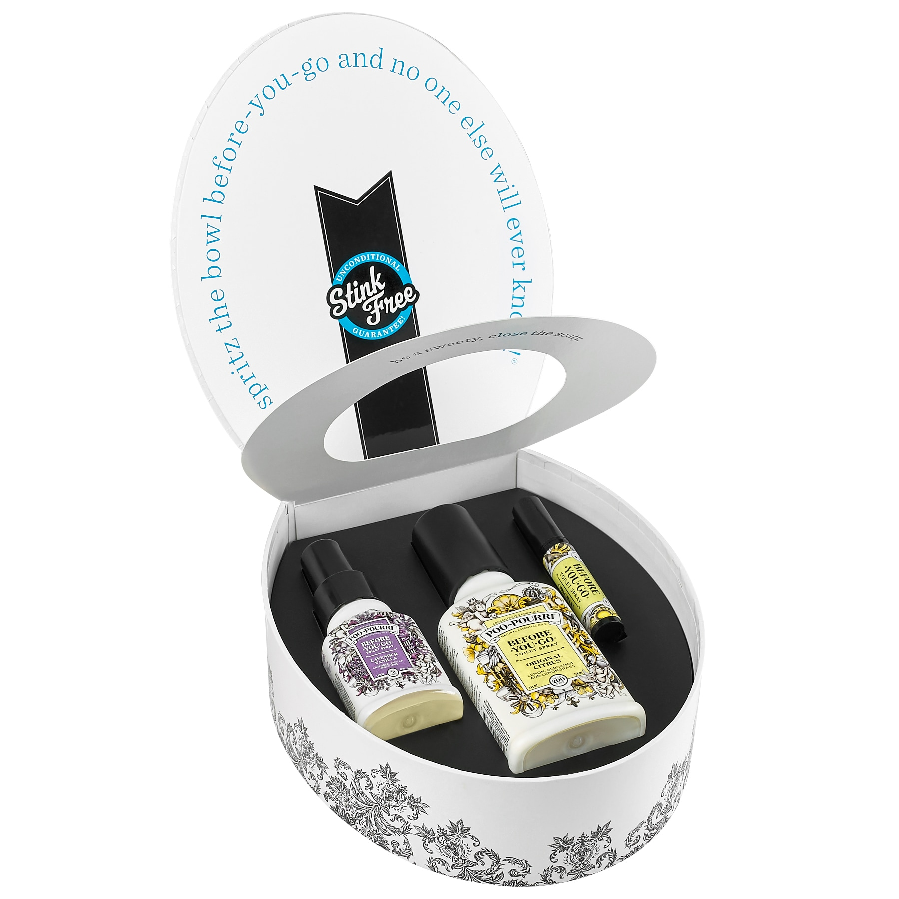 Poo-Pourri Classic Potty Box Gift Set (Gift Set), Purple ...