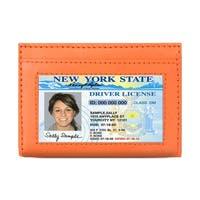 AFONiE Leather Secure Cards Holder Wallet