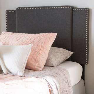Modern Fabric Twin/Full Size Expandable Headboard by Baxton Studio https://ak1.ostkcdn.com/images/products/18515194/P24625366.jpg?impolicy=medium