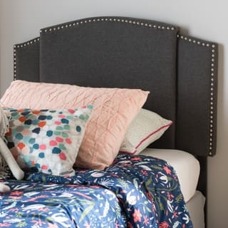 Modern Fabric Twin/Full Size Expandable Headboard by Baxton Studio https://ak1.ostkcdn.com/images/products/18515195/P24625364.jpg?impolicy=medium